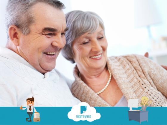 Aide administrative aux personnes âgées