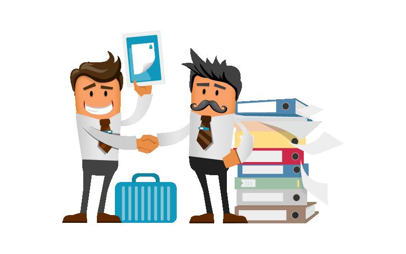 assistance administrative et dématérialisation des documents pour les pros